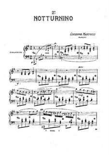 Tre notturnini, Op.42: Notturnino No.2 by Giuseppe Martucci
