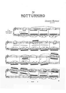 Tre notturnini, Op.42: Notturnino No.3 by Giuseppe Martucci