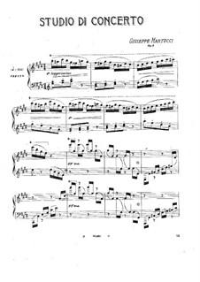 Studio di concerto (Concert Etude), Op.9: Studio di concerto (Concert Etude) by Giuseppe Martucci