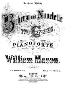 Two Pieces, Op.31: No.1 Scherzo by William Mason