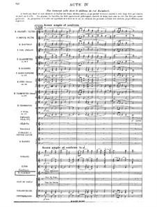Amadis: Act IV by Jules Massenet