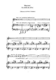 Au delà du rêve: In E Flat Major by Jules Massenet