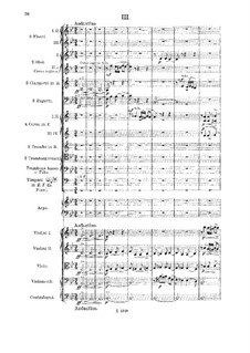 Suite for Orchestra No.2, Op.14: Movements III-IV by Alexander Taneyev