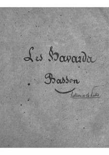 Les bavards (The Chatterbox): Bassoons part by Jacques Offenbach