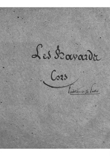 Les bavards (The Chatterbox): Horns part by Jacques Offenbach