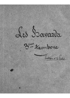 Les bavards (The Chatterbox): Trombone III part by Jacques Offenbach
