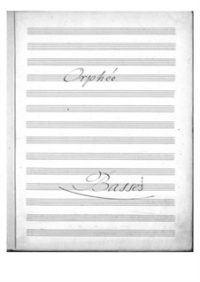 Complete Opera: Double bass part by Jacques Offenbach