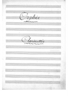 Complete Opera: Clarinets part by Jacques Offenbach