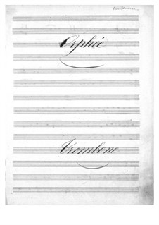 Complete Opera: Trombone part by Jacques Offenbach