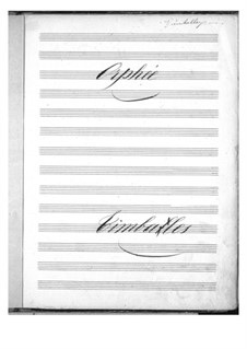 Complete Opera: Timpani part by Jacques Offenbach