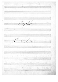 Complete Opera: Violins I part by Jacques Offenbach