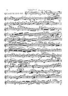 Three String Quartets No.4-6, Op.8: Quartet in A Major by Georges Onslow