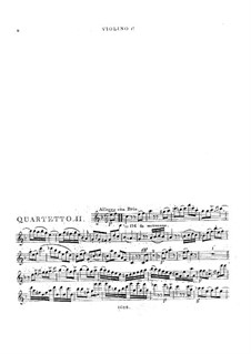 Three String Quartets No.4-6, Op.8: Quartet in F Major by Georges Onslow