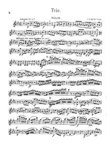 String Trio in C Minor: Parts by J.A. de Orellana