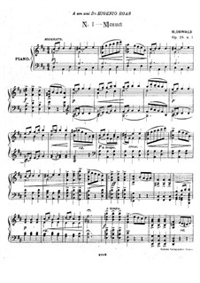 Three Pieces for Piano, Op.23: Three Pieces for Piano by Henrique Oswald