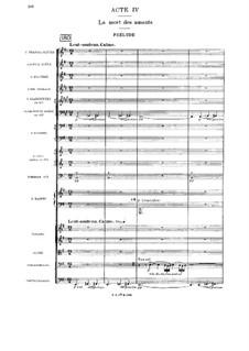 Cléopâtre: Act IV by Jules Massenet