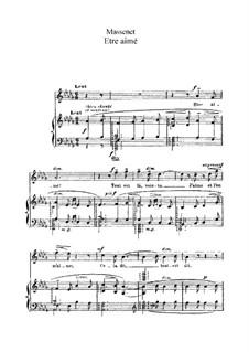 Être aimé: In D Flat Major by Jules Massenet
