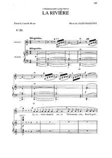 La rivière: In C Major by Jules Massenet