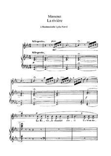 La rivière: In E Flat Major by Jules Massenet