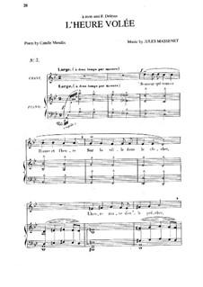L'heure volée: In G Minor by Jules Massenet