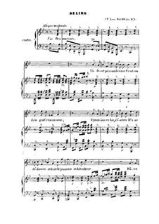 Delire: Delire by Franz Schubert