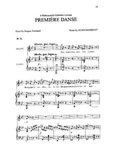Première danse: In G Minor by Jules Massenet