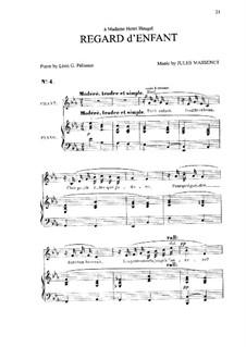 Regard d'enfant: In E Flat Major by Jules Massenet