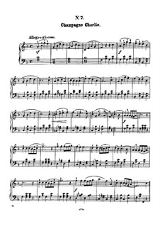 Twelve Favorite Melodies: No.7 Champagne Charley by Henry Maylath