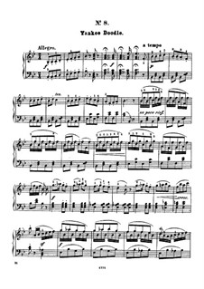Twelve Favorite Melodies: No.8 Yankee doodle by Henry Maylath