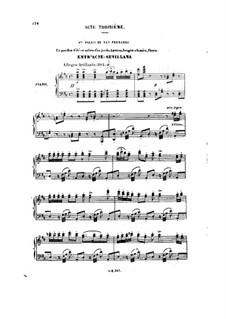 Don César de Bazan: Act III. Arrangement for voices and piano by Jules Massenet