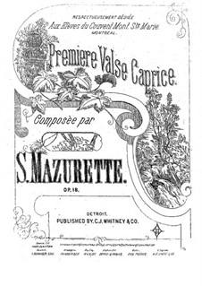 Waltz-Caprice No.1, Op.18: Waltz-Caprice No.1 by Salomon Mazurette