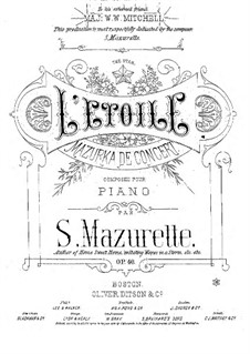 L'Etoile, Op.40: L'Etoile by Salomon Mazurette