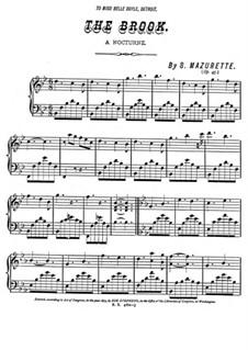 The Brook, Op.45: The Brook by Salomon Mazurette