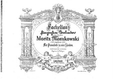 Dance with Flambeaus, Op.51: For piano four hands by Moritz Moszkowski