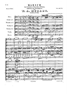 March in C Major, K.214: March in C Major by Wolfgang Amadeus Mozart