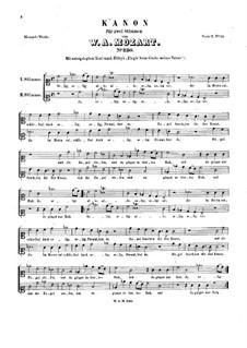 Selig, selig, K.230: Selig, selig by Wolfgang Amadeus Mozart