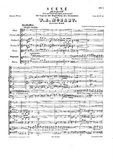 Ah, lo previdi, K.272: Ah, lo previdi by Wolfgang Amadeus Mozart