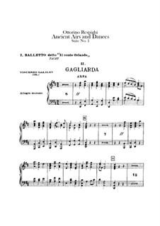 Antiche danze et arie per liuto. Suite No.1: Harp part by Ottorino Respighi
