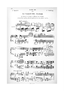 Salammbo: Acts III-V. Arrangement for soloists, choir and piano by Ernest Reyer