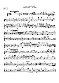 Semiramide: Overture – flutes parts by Gioacchino Rossini