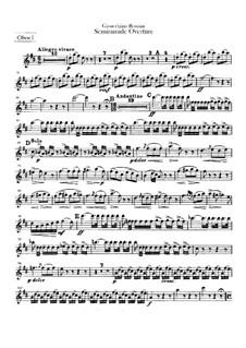 Semiramide: Overture – oboes parts by Gioacchino Rossini