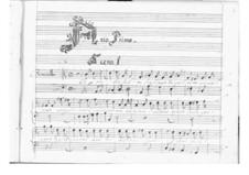 Ormindo: Act I by Pietro Francesco Cavalli