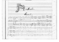 Ormindo: Act II by Pietro Francesco Cavalli