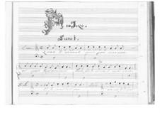 Ormindo: Act III by Pietro Francesco Cavalli
