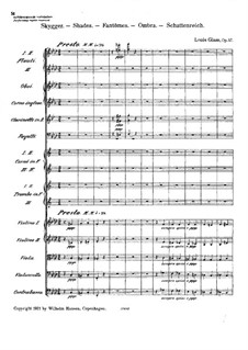 Symphony No.5, Op.57: Movements III, IV by Louis Glass