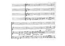 Anima Christi: Anima Christi by Jean-Baptiste Lully