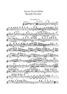 Joseph: Ouvertüre – Flötenstimmen by Étienne Méhul