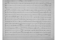 Fugue for String Trio: Fugue for String Trio by Gabriel Pierné