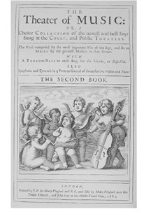 The Theater of Music, Book II: The Theater of Music, Book II by John Blow, Henry Purcell, Robert King