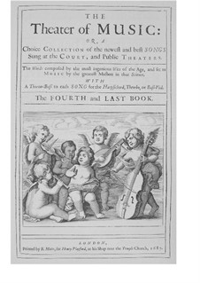 The Theater of Music, Book IV: The Theater of Music, Book IV by John Blow, Henry Purcell, Robert King, William Turner